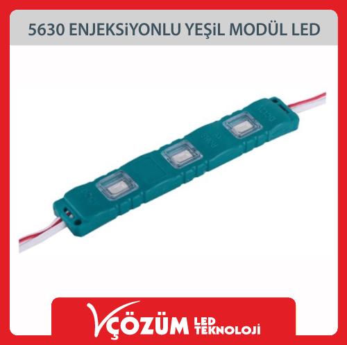5630-Enjeksiyonlu-Yesil-Modul-Led