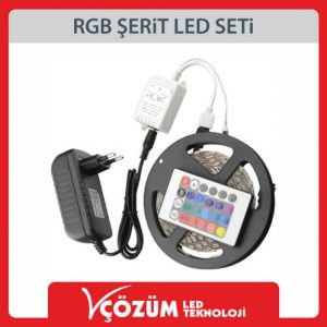 RGB-ŞERİT-LED-SETİ